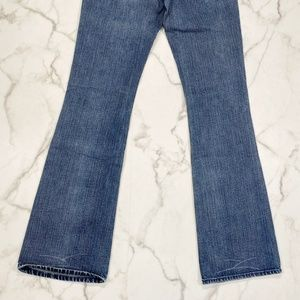 """7 For All Mankind Jeans - 7 For All Mankind Flare Distressed Jean 32"""" Inseam"""